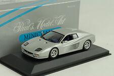 1994 Ferrari 512 M Coupe plata plata 1:43 Minichamps