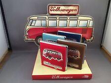 JOBLOT, VW CARAVANETTE CIGARETTE/BUSINESS CARD CASE X 4 PLUS DISPLAY STAND