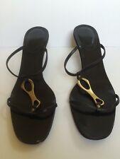 cd44481b507fa5 Gucci Open Toe Mule Slide Sandals Shoes size 8.5B