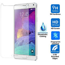 TEMPERED GLASS SCREEN PROTECTOR ANTI SCRATCH FILM For SAMSUNG GALAXY NOTE 4 UK