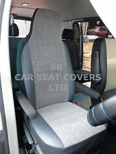 i - TO FIT A JAGUAR X TYPE CAR, SEAT COVERS, MARBLE GREY/ LEATHERETTE TRIM