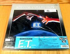 E T THE EXTRA-TERRESTRIAL LETTERBOX LASERDISC BOX SET BRAND NEW & FACTORY SEALED
