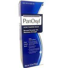 Panoxyl 10 Acne Foaming Wash Acne Treatment 5.5oz (156g)