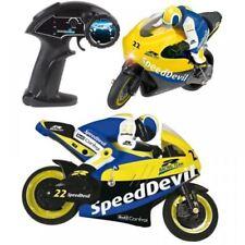 Voitures et motocyclettes de modélisme radiocommandées multicolores électriques
