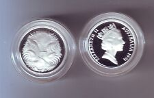 1991 ERROR PROOF SET Contains 1990 1 one cent coin very rare I-624