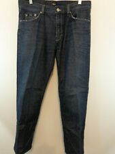 HUGO BOSS Men Regular Fit Texas Jeans Sz 34 X 32 Blue