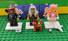 Lego Movie 2 Collectible Minifigures series Kitty Pop Lucy Sherry Scratchen Post