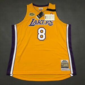 100% Authentic Kobe Bryant Mitchell & Ness 99 00 Lakers Jersey Size 2XL 52 Mens