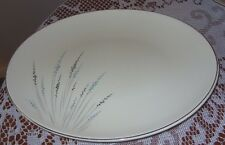 "Edwin Knowles China,Fantasy Vintage 12"" Oval Serving Platter X-5104 - USA Made"