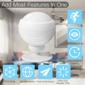 2021 NEW WiFi Smart PIR Motion Sensor tuya/smart life APP For Alexa Google A++