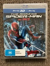 The Amazing Spider-Man in 3D - Andrew Garfield (Blu-ray) NEVER PLAYED & SEALED