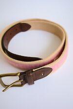 Tommy Hilfiger - Canvas & woven belt, size L 38-40