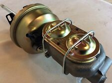 "1961-72 Ford Galaxie 7"" Brake booster & master cylinder w/firewall brackets"
