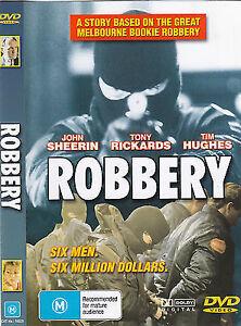 ROBBERY DVD - Australian Movie - Region 4 Aust