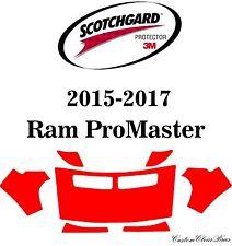 3M Scotchgard Paint Protection Film Pre-Cut Kits 2015 2016 2017 Ram ProMaster