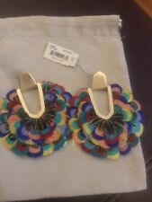 Kendra Scott Multi Colored Feathers Nwt