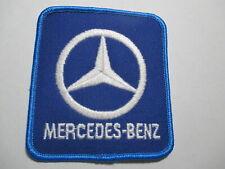 Mercedes - Benz Patch,NOS,Vintage,Original, RARE  3 x 3 1/4  Inches Blue Boarder
