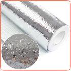 Auto-adhesivo Grueso Anti-petróleo Papel de aluminio Pegatinas Aceite de cocina