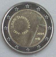 2 Euro Finnland 2014 Ilmari Tapiovaara unz.