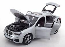 Original BMW X4 (f26) Modèle Voiture Miniature Échelle 1 18 Argent Glacier