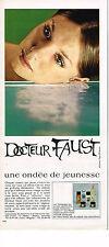 PUBLICITE  1970   DOCTEUR FAUST   cosmétiques