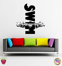 Wall Stickers Vinyl Swim Swimming Water Sport For Living Room (z1663)