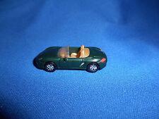 GREEN Mini PORSCHE BOXSTER CONVERTIBLE ROADSTER Plastic Kinder Surprise CAR