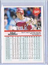 1992 Fleer WRONGBACK ERROR - Norm Charlton #402 Reds BACK - Randy Tomlin FRONT