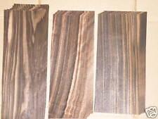 Ebony wood veneer (0.6mm thick) variable length/width