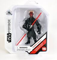 Disney Store Star Wars Toybox Darth Maul Action Figure Sith Collectible #16 BNIB