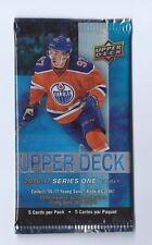 2016-17 UD Series 1 Upper Deck Hockey 1 Pack Retail Blaster 5 Cards per Pack