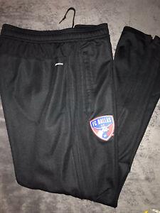 Adidas FC Dallas Soccer Training Track Pants Sweats Mens XL Black
