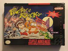 Pocky & Rocky SNES (Super Nintendo) CIB - Authentic Tested