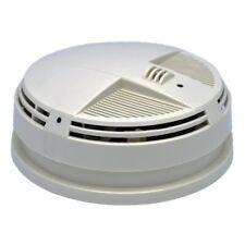 Zone Shield HD 4K IR AC Power Smoke Detector Side View Security Camera SC97104K