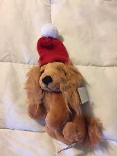 RUSS CARESS SOFT PETS RUSTY DATSON WEINER DOG PUPPY PLUSH STUFFED ANIMAL DOLL!