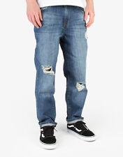 Wåven Bjorn Loose Denim Jeans Distressed Brand Blue Mens W32 L32 Box75 20 i
