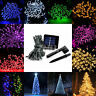 60 100 200 LED String Solar Powered Fairy Lights Garden Christmas Party Outdoor
