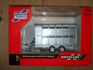 Britains farm vehicles Ifor Williams Trailers - livestock trailer 1:32 - 40710