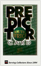 """1996 Futera Rugby Union Trading Cards Retail """"Predictor"""" PC2: South Africa"""