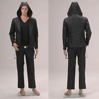 The Mortal Instruments: City of Bones Jace Wayland Black Jacket *Tailored*