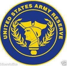 UNITED STATES ARMY RESERVE BUMPER STICKER LAPTOP STICKER