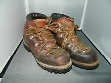 Vintage Red Wing Irish Setter Hiking Mountaineering Boots Vibram Sole Size 6C