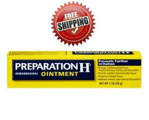 PREPARATION H OINTMENT CANADIAN TYPE Bio-Dyne- Shark Oil 25gr, Eyes, Hemorrhoid