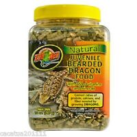 ZOO MED NATURAL JUVENILE BEARDED DRAGON FOOD - NOW BACK IN STOCK - 283g