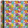 """HATCHIMALS WRAPPING PAPER ROLL GIFT WRAP ANY OCCASION 30"""" X 5' NEW"""