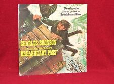 OST LP BREAKHEART PASS JERRY GOLDSMITH 1985 G.S.F. SEALED