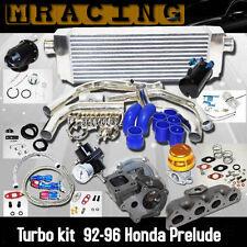 Turbo Kits + Intercooler Kit+Manifold+T3/T4+BOV for 92-96 Honda Prelude VTEC BB1