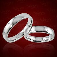 2 Trauringe 925 Silber Gravur+Etui Eheringe Verlobungsringe Partnerringe pr27