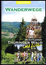 Wanderwege im mittleren Thüringer Wald, um 2003