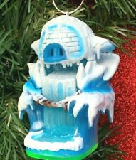 CUSTOM Skylander Empire of Ice Cave Christmas Tree Ornament Spyro Game Character